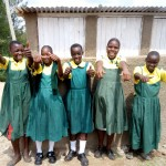 The Water Project: Mahanga Primary School -  Finished Latrines