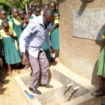 The Water Project: Mahanga Primary School -  Finished Tank