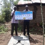 The Water Project: Shitungu Community A -  Sanitation Platform