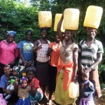 The Water Project: Munzakula Community, Musonye Spring -  Protected Spring