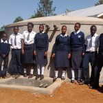 The Water Project: Rosterman Secondary School -  Finished Tank