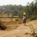 The Water Project: Shitoto Community, Abraham Spring -  Carrying Water
