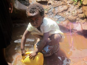 The Water Project:  Anita Fetching Water