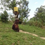 The Water Project: Murumba Community -  Carrying Water