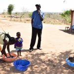 The Water Project: Maluvyu Community -  Washing Clothes