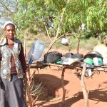The Water Project: Syakama Community -  Dish Rack