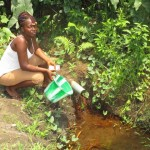 The Water Project: Malokoh Community, #4 Mabesseneh Road -  Alternative Water Source