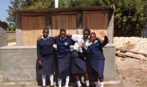 The Water Project : 42-kenya4637-finished-latrines