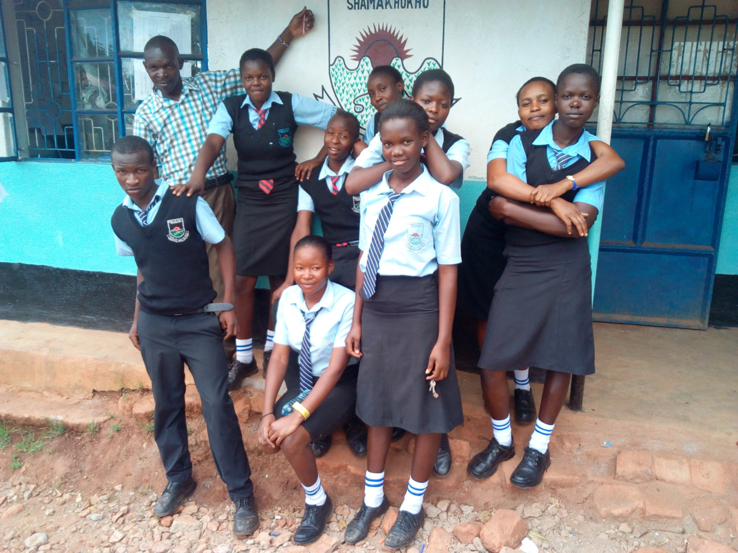 The Water Project : 5-kenya4660-students