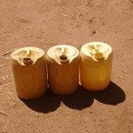The Water Project: Shitoto Community, Abraham Spring -  Liter Jerrycans Used To Fetch Water