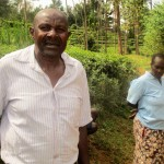 The Water Project: Mutambi Community, Kivumbi Spring -  Mr Kivumbi