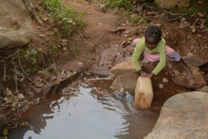 The Water Project:  Current Water Source For Distant Families