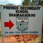 The Water Project: Friends Secondary School Shamakhokho -  School Entrance
