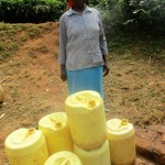 The Water Project: Mutambi Community -  Jescah With Her Jerrycans
