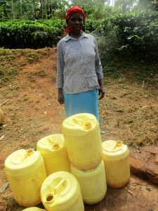 The Water Project:  Jescah With Her Jerrycans