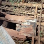 The Water Project: Visiru Community, Kitinga Spring -  Inside A Latrine