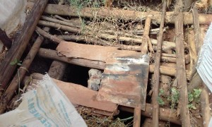 The Water Project:  Inside A Latrine