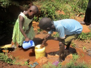 The Water Project : 6-kenya4720-fetching-water