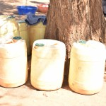 The Water Project: Maluvyu Community A -  Water Containers