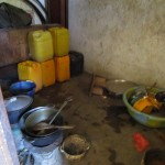 The Water Project: Sumbuya Community, Quarry Road -  Kitchen Inside
