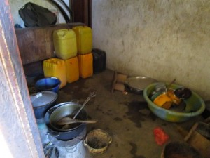 The Water Project:  Kitchen Inside