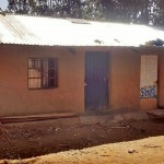The Water Project: Shitoto Community, Abraham Spring -  Traditional Home