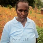 The Water Project: Mutambi Community, Kivumbi Spring -  Madam Florence Chellagat