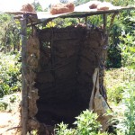 The Water Project: Murumba Community -  Latrine