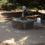 The Water Project: Rogbere Community -  Seasonal Well When Dry