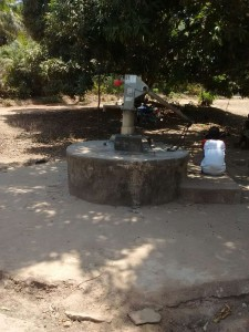 The Water Project:  Seasonal Well When Dry