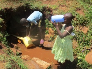 The Water Project : 8-kenya4720-fetching-water