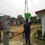 The Water Project: Tholmosor Community -  Well Working In The Rainy Season