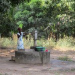 The Water Project: Rogbere Community -  Seasonal Well When Working
