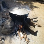 The Water Project: Sumbuya Community, Quarry Road -  Kitchen Outside