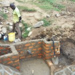 The Water Project: Shitungu Community A -  Construction