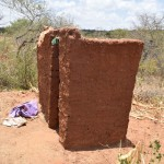 The Water Project: Waita Community -  Latrine
