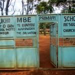 The Water Project : 1-kenya4663-school-gate