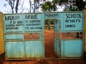 The Water Project : 1-kenya4663-school-gate