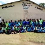 The Water Project: Musunji Primary School -  Students Pose For Picture