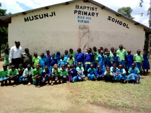 The Water Project:  Students Pose For Picture