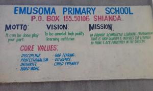 The Water Project : 1-kenya4692-school-entrance