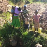 The Water Project: Shikoti Community, Amboka Spring -  Amboka Family