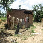 The Water Project: Mulundu Community -  A Sample Household_