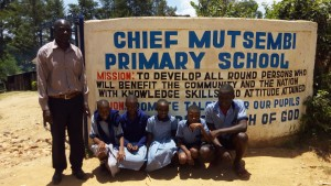 The Water Project : 1-kenya4828-school-entrance