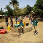 The Water Project: Conakry Dee Community A -  Seasonal Well When Working