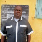 The Water Project: Mukhombe Primary School -  Mr Jotham Okwaro Headteacher