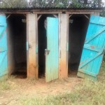 The Water Project: Emukhalari Primary School -  Latrines