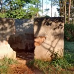 The Water Project: Iyenga Primary School -  Boys Urinal