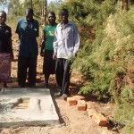 The Water Project: Mwinaya Community -  Sanitation Platform