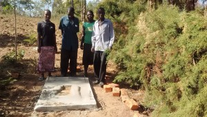 The Water Project : 10-kenya4697-sanitation-platform